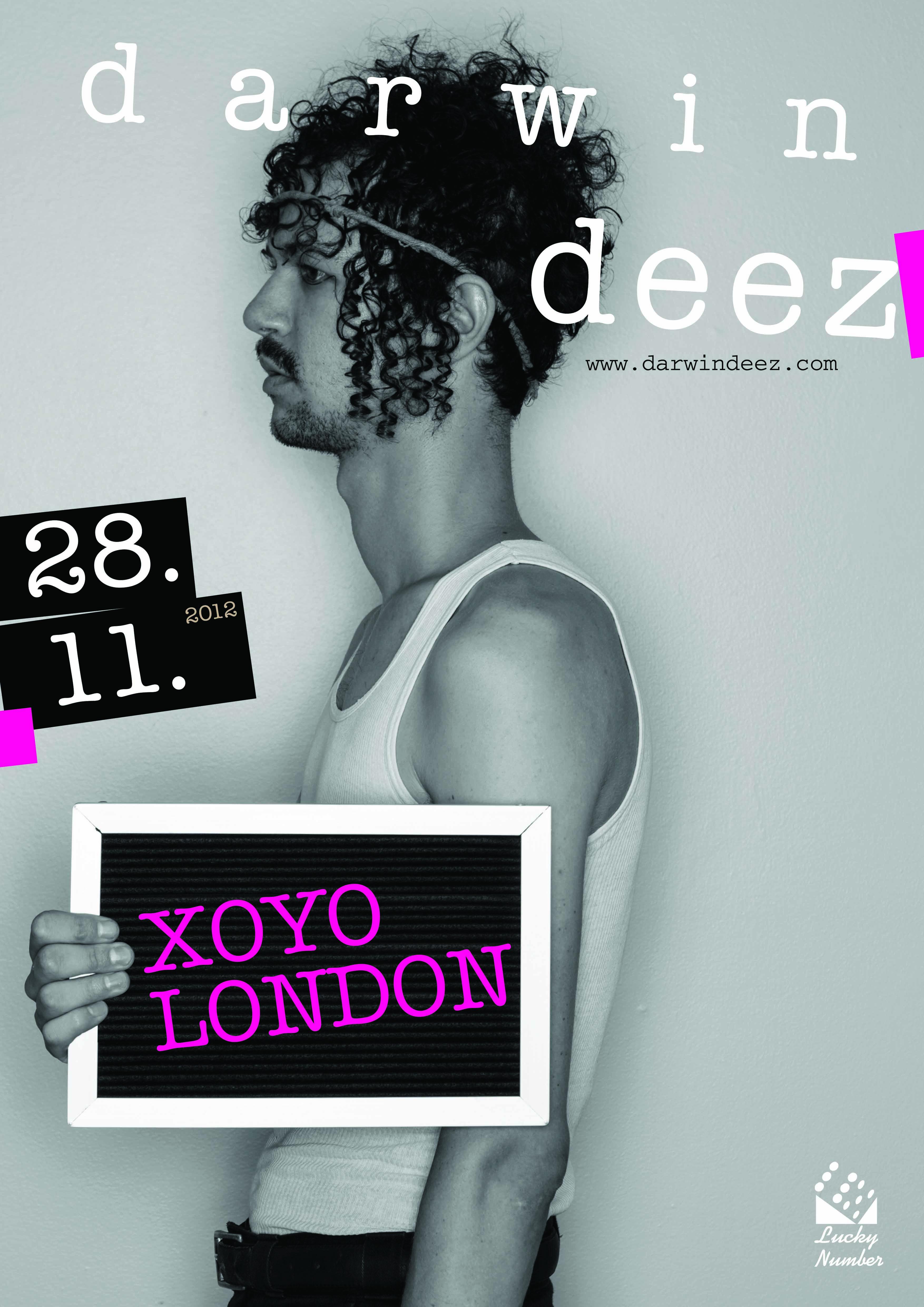 Darwin Deez Tour Dates 2012 Announced