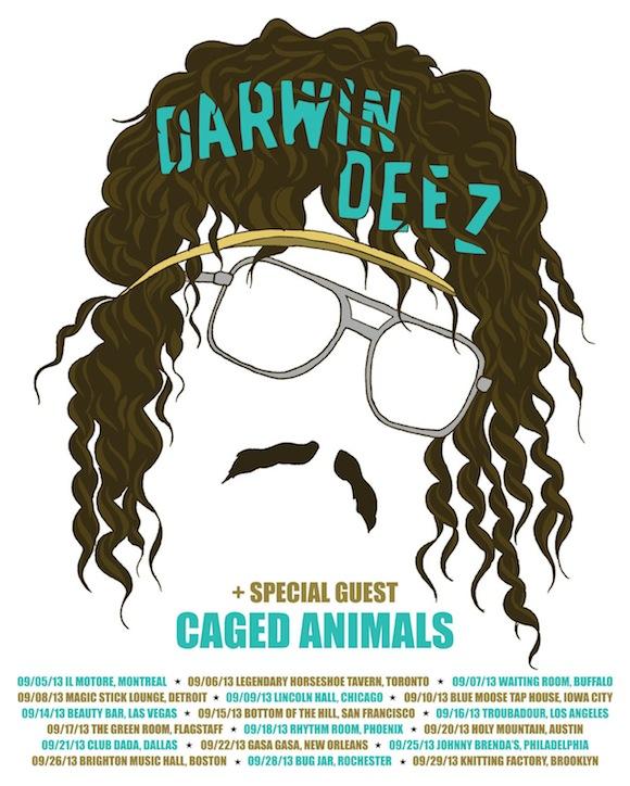 6000 Darwin Deez A2 US Tour poster.indd