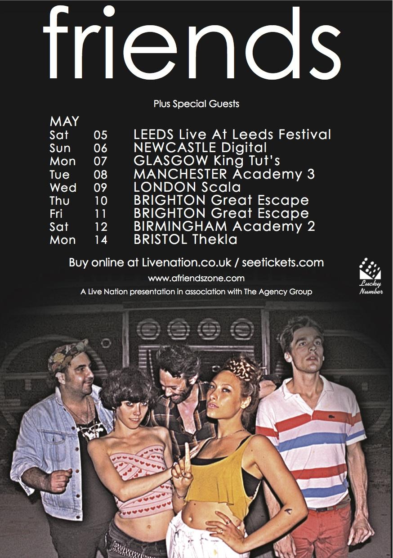 Lucky Number Music :: Friends – UK Tour / Remix